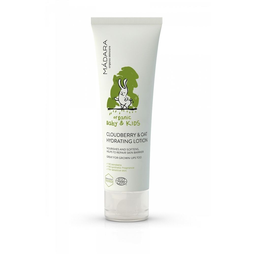 MÁDARA Baby Cloudberry & Oat Hydrating Lotion